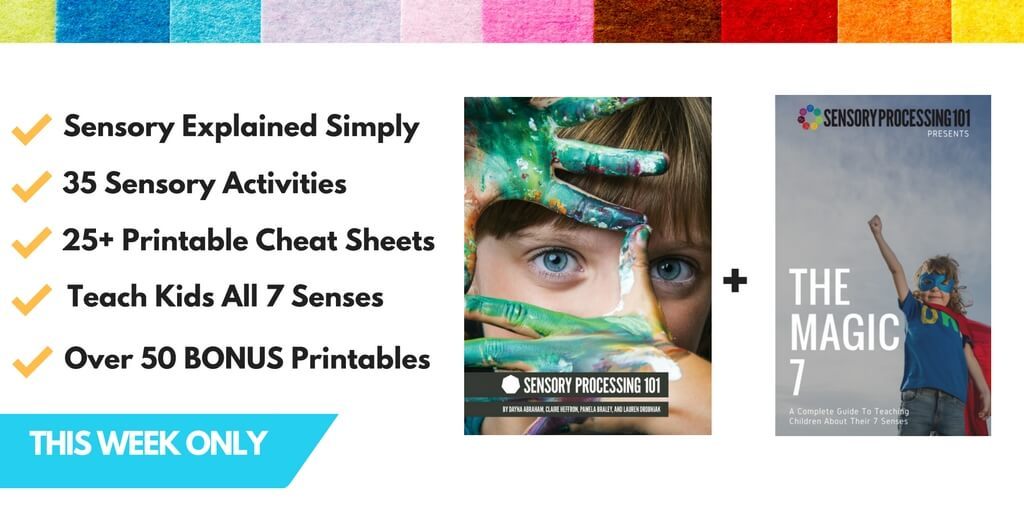Must Have Sensory Processing Resources- Limited Time Only